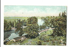 Old Postcard Rocky Springs Park Conestoga Creek Lancaster PA Hugh Leighton