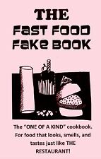 the FAST FOOD FAKE cookbook RESTAURANT recipes BURGERS@