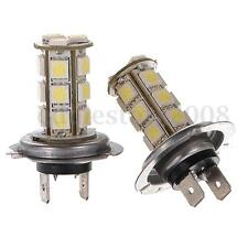 H7 5050 SMD 18 LED Car Xenon White Fog Light Driving Bulbs Head Lamps DC 12V
