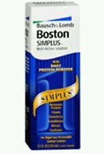 3x Bausch And Lomb Boston Simplus Multi-Action Solution