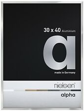 Nielsen Alpha Picture Frame Polished  Silver A4