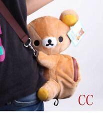 rilakkuma brown bear cute shoulder bag huging plush School Bags Backpack Kids