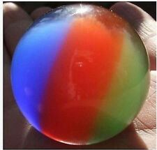 40mm 3 color Mexican Opal Sphere Crystal Ball/Gemstone Free stand