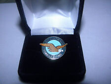 PRATT & WHITNEY AIRCRAFT ENGINES LAPEL TAC PIN PILOT / EMPLOYEE CHRISTMAS GIFT