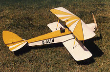 DH 82 TIGER MOTH 60 inch Wingspan Laser-Cut Short-Kit  RC Aircraft .60 -.91