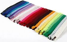 24 PCS Zippers For Bags Manufacture And Purse Wholesale Include 24 Colors