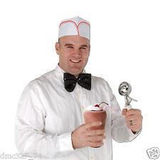 4 Retro 1950s Sock Hop Grease Party Costume ACCESSORY Soda Shop SODA JERK HATS