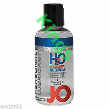 SYSTEM Jo H2O Warming Personal Lubricant Lube Water Based Condom Safe 135ml