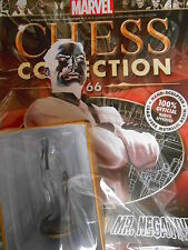 "MARVEL CHESS FIGURINE COLLECTION #66 ""MR NEGATIVE"" (BLACK PAWN) EAGLEMOSS. NEW"