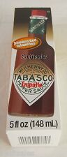 Tabasco Chipotle Pepper Sauce - Smoked Red Jalapenos 5 oz - Fresh!