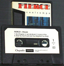 Various Fierce Dance Cuts No 1 CASSETTE ALBUM Cooltempo ‎ZCTLP4 Electronic Hip-h