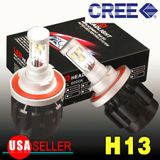 YITA-6000K White H13/9008 80W 8000LM LED HEADLIGHT High/Low Beam Conversion Kit