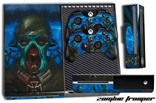 Designer Skin for XBOX ONE 1 Gaming Console+2 Controller Sticker Decal ZOMB