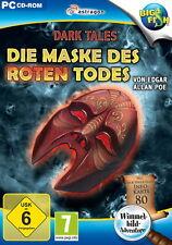 Dark Tales: Die Maske des roten Todes von Edgar Allan Poe (PC, 2014, DVD-Box)