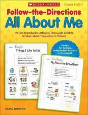 All about Me : 40 Fun Reproducible Activities That Guide Children to Share...