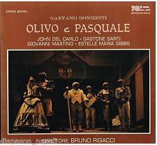 Donizetti: Olivo E Pasquale / Rigacci, Del Carlo, Sarti, Mastino - LP Vinyl