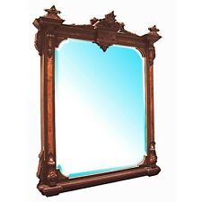 Antique Wall Mirror, American Victorian  #0334