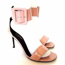 W-1070239 New Saint Laurent Pink Jane 80 Bracel Sandal Marked Size 38.5 US-8.5