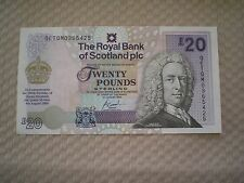 GB 2002 RBS Queen Mother UNC £20 banknote - pristine