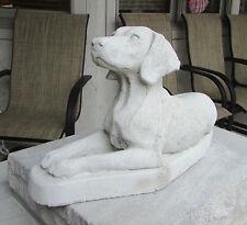 CONCRETE VIZSLA DOG STATUE OR USE AS A MONUMENT