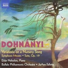 Dohnanyi: Variations on a Nursery Song; Symphonic Minutes; Suite , Op. 19, New M