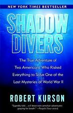 SHADOW DIVERS-  true story/ Hitlers sub-Advanced Reader ed-Robert Kurson-Unread-