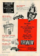 1967 ADVERT Hoss Cartwright Mini Bike Honda Motorcycle Mustang Pedal Car