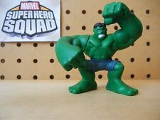 Marvel Super Hero Squad HULK Angry Smash Pose in Dark Green w/ Blue Shorts