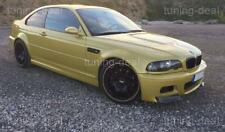 BMW E46 M3 Frontspoiler Flaps CSL Look