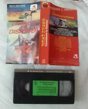 Thunderbirds countdown to disaster ISRAELI VHS PAL ENG SPEAK gerry anderson