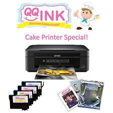 Edible Printer - Epson Printer with Lucks Edible Sheets & Edible Ink Cartridges
