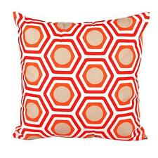 Geometric Shape Sofa Bed Home Decor Pillow Case Cushion Cover Orange