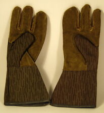 East German Germany NVA DDR Rain Drop Camo Heavy Duty Glove Pair