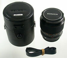 KONICA Hexanon UC AR 1,8/28 28 28mm F1,8 1,8 superfast adaptable A7 EOS top !