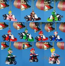 Takara Nintendo Super Mario Bros Decoration Xmas Ornament Home Decor K1335 Set10