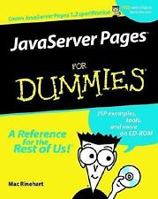 JavaServer Pages For Dummies(For Dummies (Computers))-ExLibrary