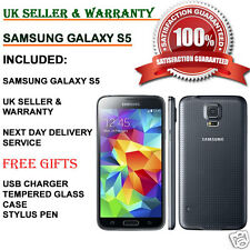Samsung Galaxy S5 SM-900F 16GB 4G Unlocked Smartphone Charcoal Black UK GRADE A+