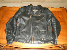 Men's Medium Harley Davidson Thick! Leather Jacket FREE SHIPPING