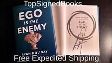 SIGNED The Ego Is the Enemy by Ryan Holiday, 2016 hardcover autographed new