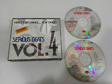 SERIOUS BEATS VOL 4 - 2 X CD 1992 EVA HOLLAND EDITION FAT BOX UNICO!