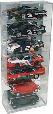 Acrylic Diecast Model Car Display Case 1:24 Holds 7 Vertical New in Box Made USA