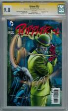 BATMAN #23.2 3D COVER CGC 9.8 SIGNATURE SERIES SIGNED SNYDER & HAUN RIDDLER #1