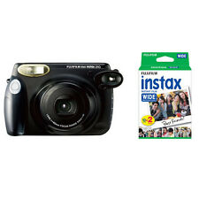 Fujifilm Fuji Instax 210 Wide Instant Film Camera, Black + 20 Prints Instax Film
