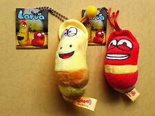 Funny Creative Larva Cute Insect Plush Toy Doll for Birthday gift Pair A-2