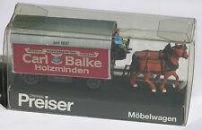 Preiser Möbelwagen Carl balke Spedition Holzminden 1:87 OVP