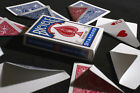 MIX GAFF Bicycle Playing Cards deck blank back face blue red Magic Trick mixed