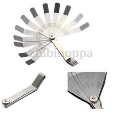 Laser 2483 12 Blade Feeler Gauge Tune Up Set Imperial Metric+  Brass Blade 89mm