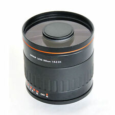 500mm f/6.3 Ultra-telephoto Telephoto Mirror Lens for Pentax DSLR Camera Photo