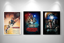 Stranger Things - Goonies - Super 8 - 3 Poster Format A3 297 x 420 mm