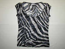 DOLCE & GABBANA UNDERWEAR TOP ZEBRA ORIGINAL D&G MINT CONDITION